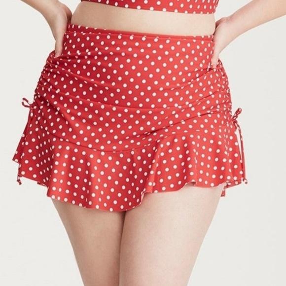 0e2c61e3169ed torrid Swim   Red Polka Dot Skirt   Poshmark